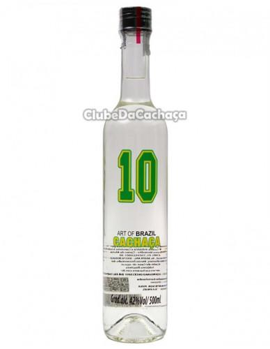 Cachaça 10 Prata 500 ml