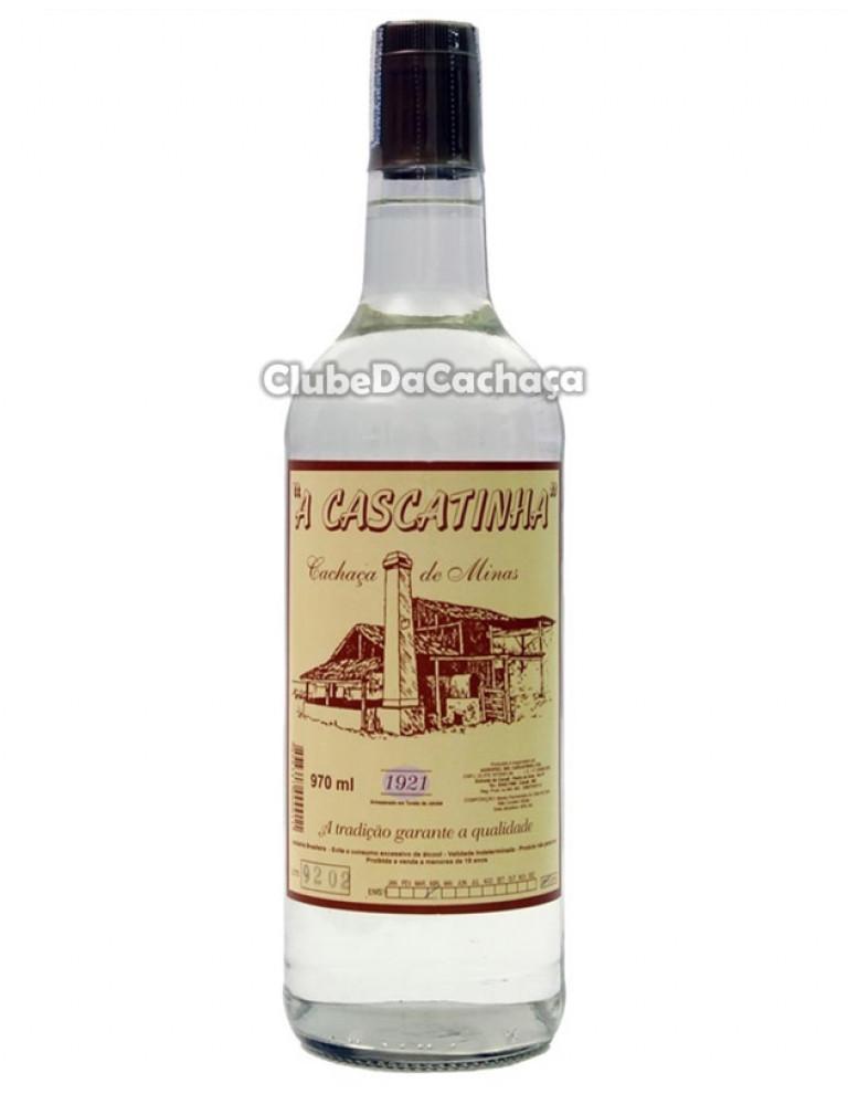 Cachaça A Cascatinha Prata 970 ml